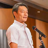 かしわ会企画担当委員会委員長宮崎 真行 氏