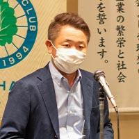 かしわ会交流広報委員会委員長 室伏 将行 氏